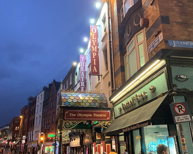 A Surprise Trip to Dublin