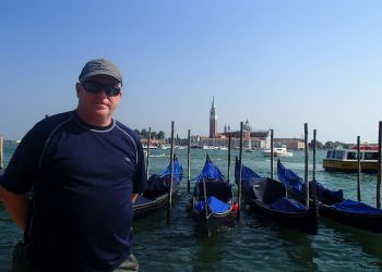 Gord Parsons in Venice