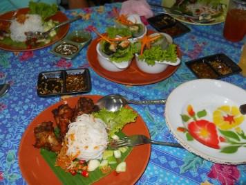 Food stall at Chatuchuck Market