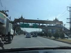 Walking overpass