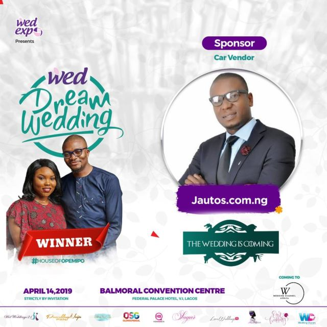 WOW!!! Jautos Motors Sponsors N30million Dream Wedding EXPO Exhibition In Lagos