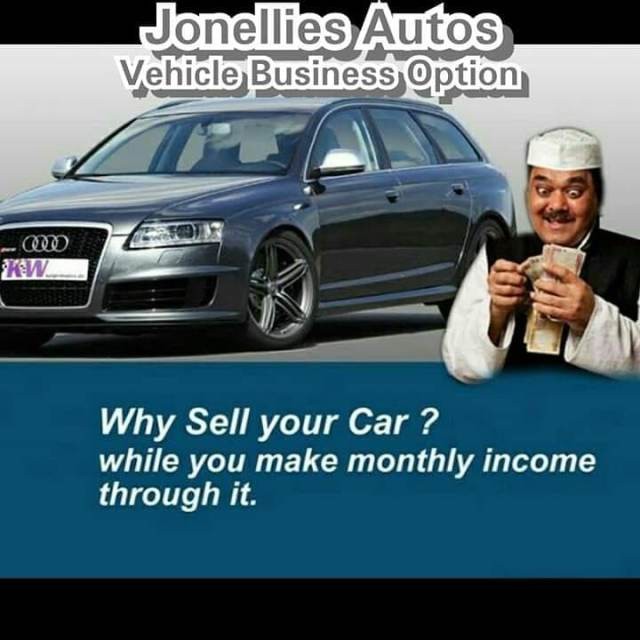 SIGN UP FOR VEHICLE BUSINESS OPTION!