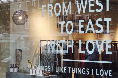 Gevel Things I Like Things I Love in de Javastraat in het Javakwartier