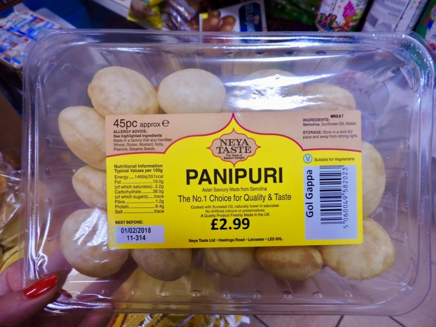 Panipuri in Saeed's Curry House in de Javastraat