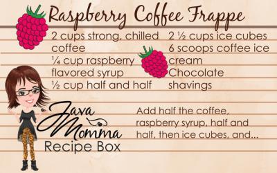 Raspberry Coffee Frappe