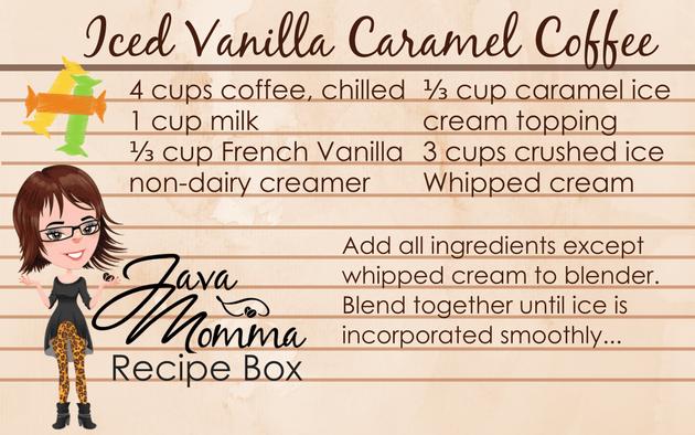 Iced Vanilla Caramel Coffee