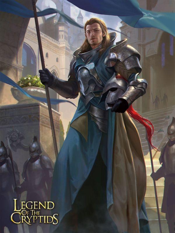 Скачать картинку Красивый рыцарь в городе бесплатно