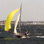 "378 ""Phlipnhel"" going downwind, Invitation Race."