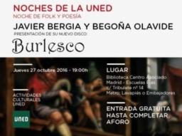 "Javier Bergia & Begoña Olavide ""Sexteto Burlesco"""