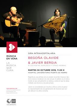 Javier Bergia & Begoña Olavide…….en vena !!