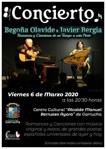 Javier Bergia & Begoña Olavide – Canciones y Romances de Un Tiempo a esta Parte.