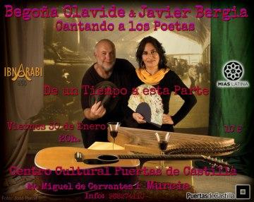 CANTANDO A LOS POETAS – (con Begoña Olavide)