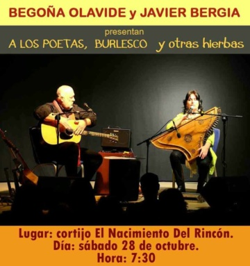 "Javier Bergia &  Begoña Olavide  ""Almería Tour"""
