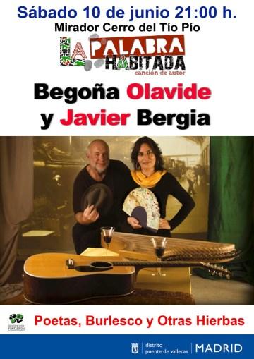 La Palabra Habitada – Javier Bergia & Begoña Olavide