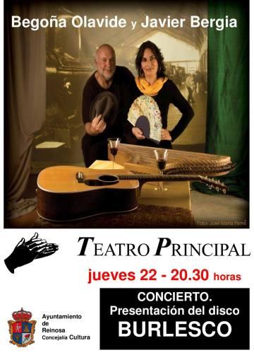 """""""De un Tiempo…Burlesco y otras Hierbas"""" Javier Bergia & Begoña Olavide S.L."""
