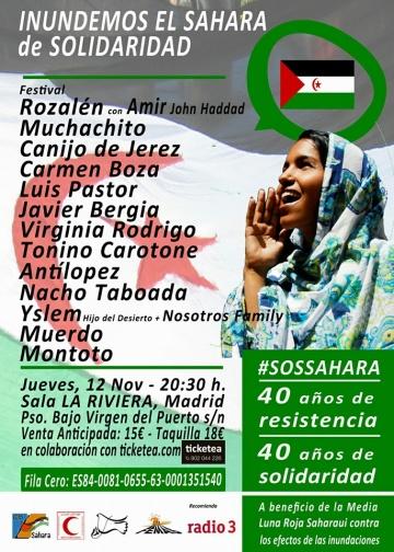 Inundemos el Sahara de Solidaridad