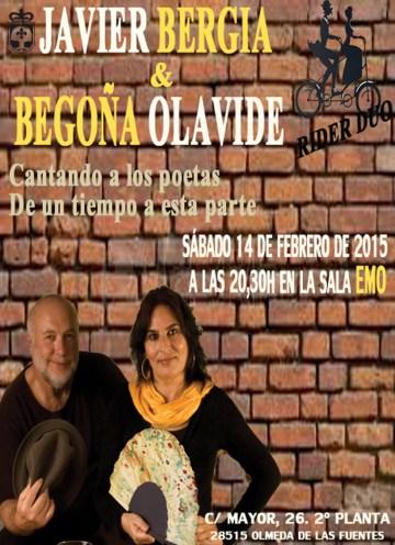 CANTANDO A LOS POETAS (con Begoña Olavide)