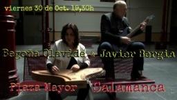 """Begoña Olavide &  Javier Bergia en concierto: """"A los Poetas de un Tiempo a esta Parte"""""""