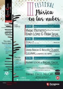 Javier Bergia & Begoña Olavide – III Festival Música en las Nubes – Zaragoza.