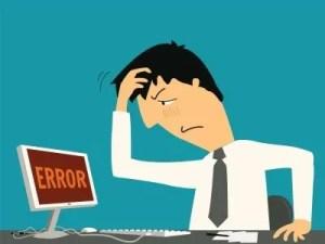 Diseño web Wix Error