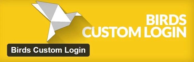 birds-custom-login Personalizar el login de Wordpress