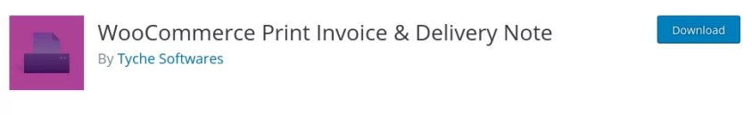 WooCommerce Print Invoice & Delivery Note