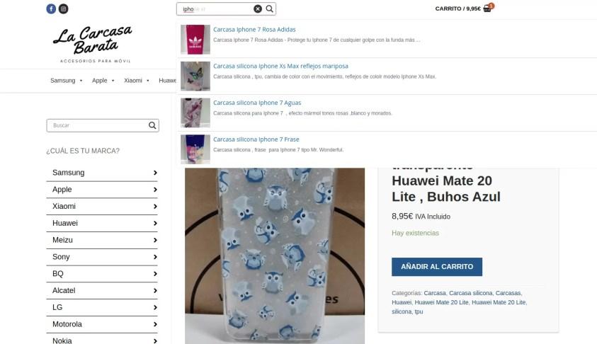 Diseño tienda online Albacete