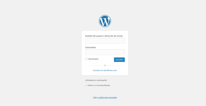 Personalizar el login de WordPress