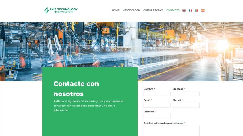 Diseño web corporativa en Madrid 3