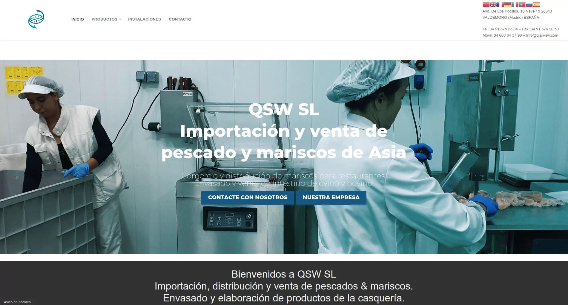 Diseño de web corporativa en Madrid