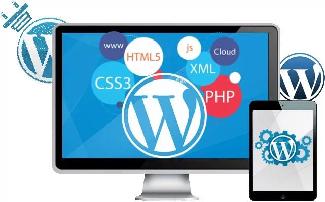 diseñar tu web con WordPress Logo