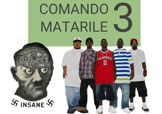 comando matarile 3: odio racial
