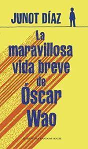 La maravillosa vida breve de Óscar Wao (Junot Díaz): portada