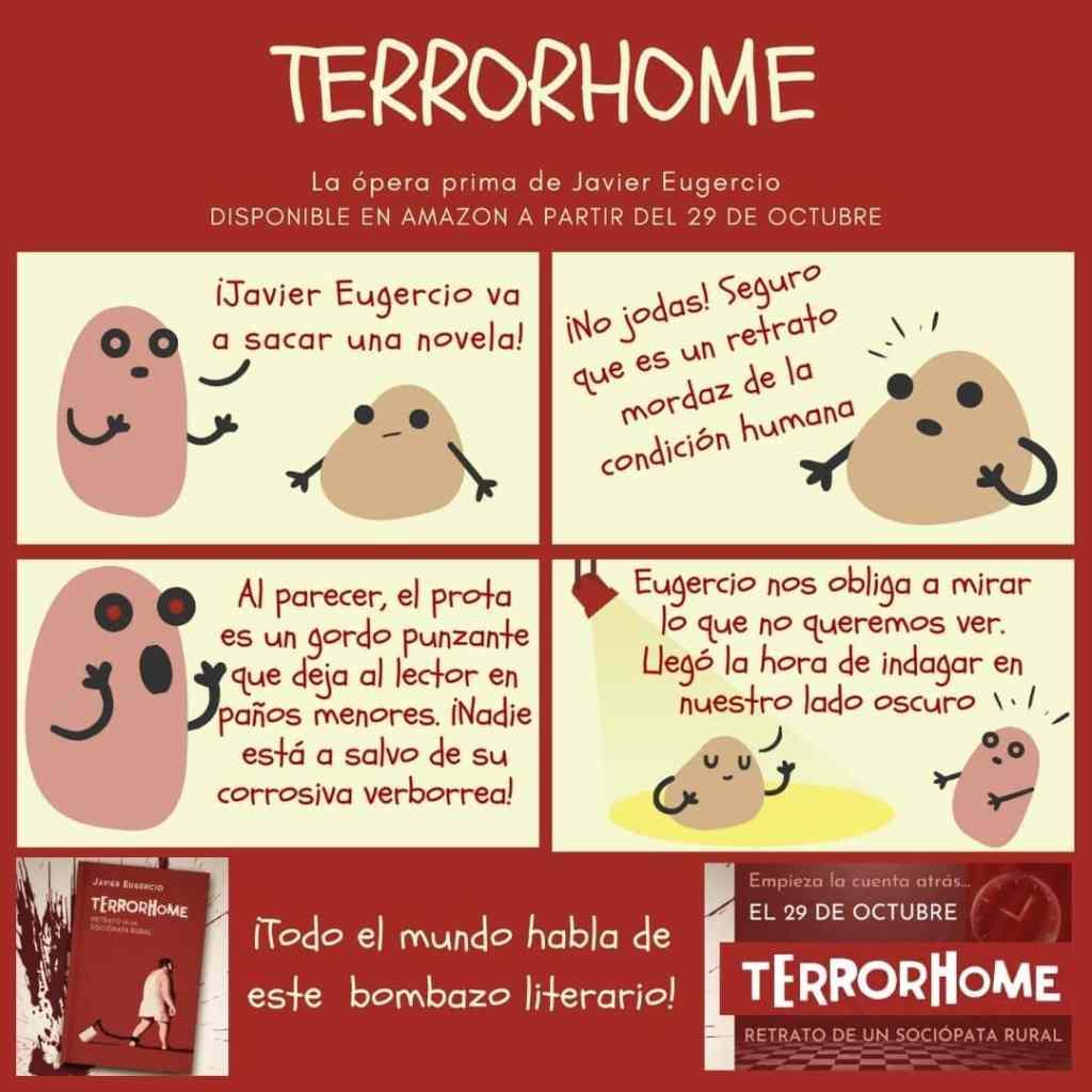 viñetas terrorhome: caníbla tartar