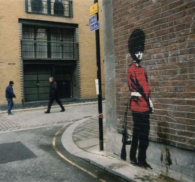 Los muros de Banksy