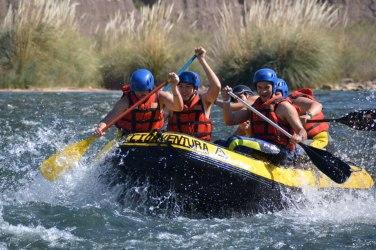 Rafting en Río de Mendoza