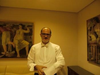 Camerino del Auditorio Nacional, Madrid, Spain.