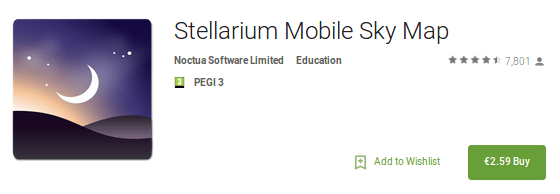 Stellarium Android