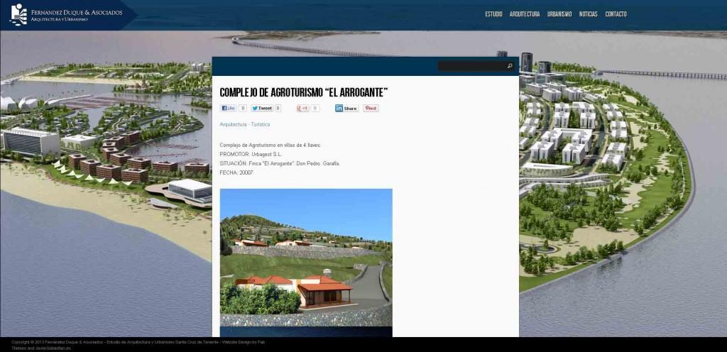 Web autogestionable fern ndez duque y asociados estudio - Estudio de arquitectura y urbanismo ...