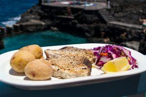 Atún a la Plancha · Bar Charco Azul · Tapas con Sabor a Mar · San Andrés y Sauces · La Palma