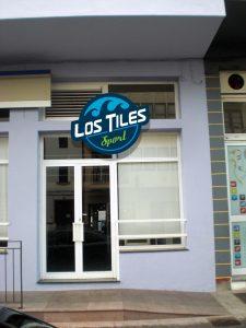 Rotulación Exterior Los Tiles Sport Moda Deportiva San Andrés y Sauces · La Palma