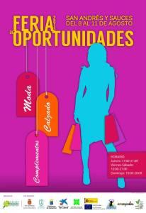Cartel Feria de Oportunidades ACE San Andrés y Sauces