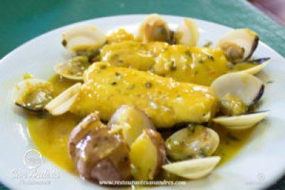 Fotografía Gastronómica · Cherne en Salsa · Restaurante San Andrés · La Palma