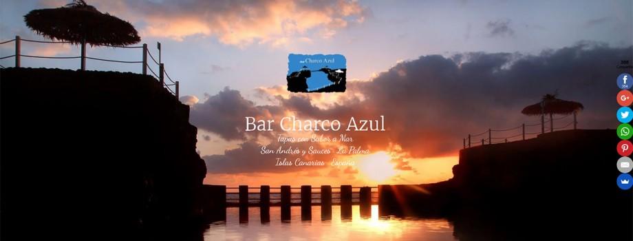 Diseño Web Bar Charco Azul · La Palma
