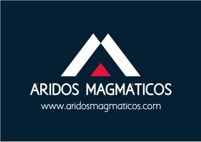 Logotipo Áridos Magmáticos S.L. Extracción minera. Breña Alta. La Palma.