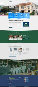 Diseño Web Autogestionable WordPress Farmacia Puntallana La Palma
