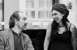 Javier Tucat Moreno y Anahi Setton