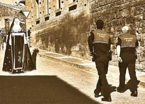 """""""Los misteriosos sucesos acaecidos en Farasdués"""", collage digital, 21x29 cm"""