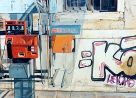 """Experiencia veneciana"", óleo/lienzo, 54x73 cm"