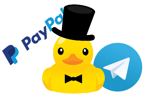 Integracion-PayPal-Telegram
